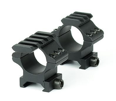"Hawke Optics Tactical Match Rings 1"" 2pc Weaver - M"