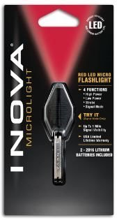 Inova Red Led Micro Flashlight