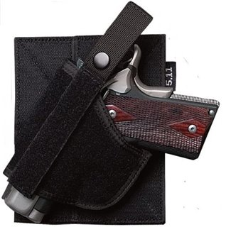 Back-Up Belt System Hook and Loop Holster Black (019)