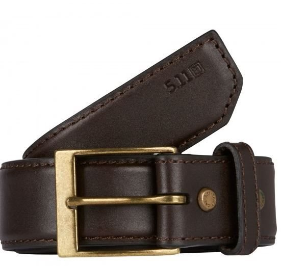 "5.11 Casual Leather Belt - 1.5"" Wide"